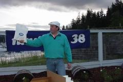 Steve Scruggs of MSC handing out door prizes