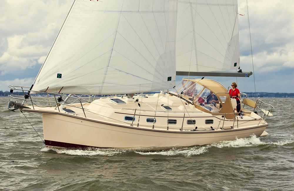 Island Packet 349 - Marine Servicenter - Yacht Sales & Service