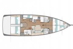 Sun-Odyssey-490---5-cabin-