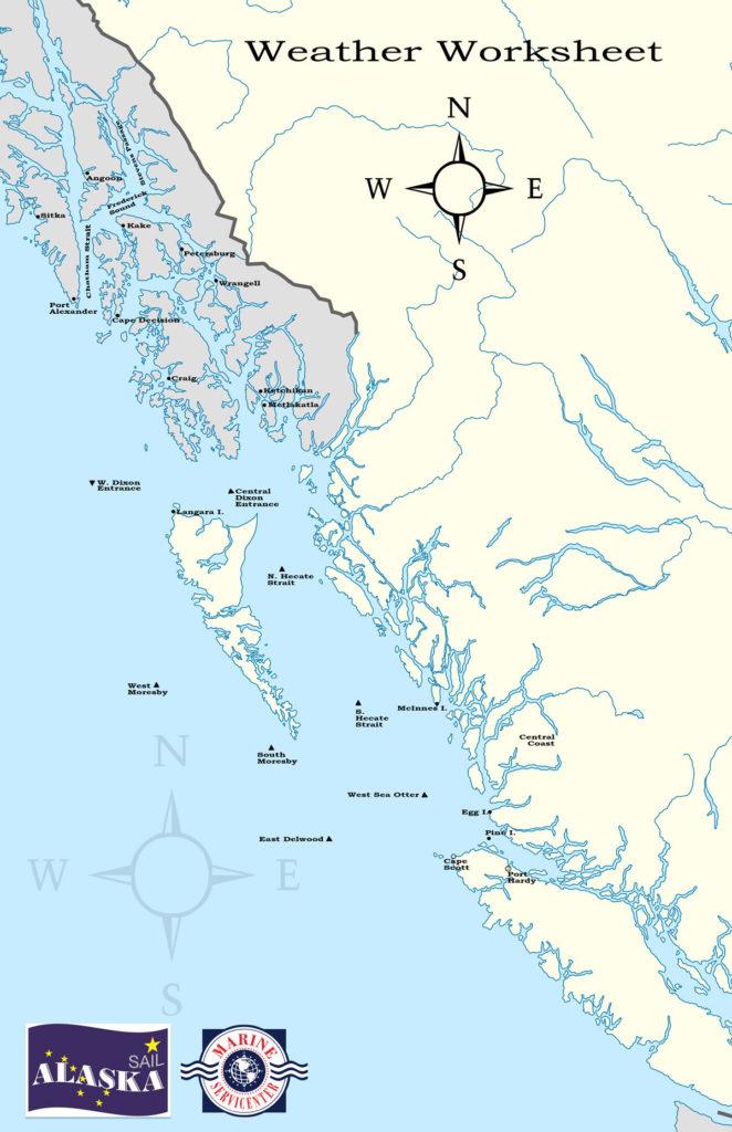 Sail Alaska Chart