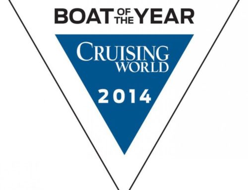 Blue Jacket 40 – Domestic Boat of the Year & Best Midsize Cruiser, 39-41 Feet