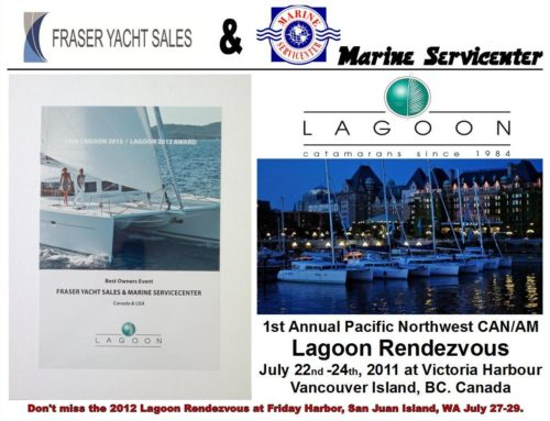 Prix Lagoon 2012 / Lagoon 2012 Award – BEST OWNER EVENT