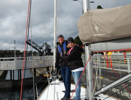 Congratulations to Lance Lott and Sheri Benedict on the purchase of a fantastic like new Jeanneau 409!