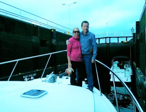 Congratulations to Craig and Nadia Larson on the purchase of their new strikingly beautiful American Tug 435.