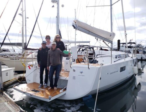 Congratulations to Tom & Dorothy Jensen on the Purchase of a New Jeanneau Sun Odyssey 440!