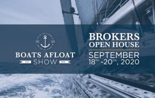 NWYA Boat Afloat Broker Open House Banner