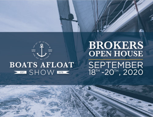 SAVE THE DATE! Boat Afloat Brokers Open House