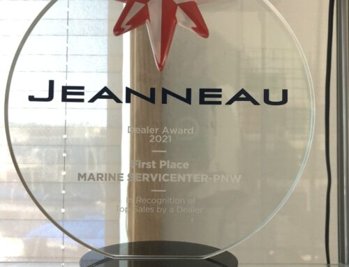 Marine Servicenter named 2021 North American Jeanneau Sailboat Dealer of the Year for the 3rd consecutive year!